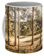 Rural Paddock In Australian Countryside Coffee Mug