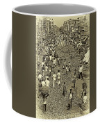 Rush Hour - Antique Sepia Coffee Mug