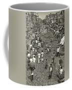 Rush Hour - Sepia Coffee Mug
