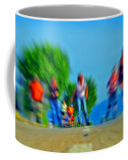 Rush On Skates Coffee Mug