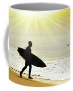 Rushing Surfer Coffee Mug