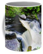 Rushing Water On A Mountain Stream Coffee Mug