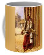Russell Charles Marion Buffalo Coat Coffee Mug