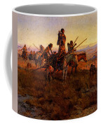 Russell Charles Marion In The Wake Of The Buffalo Hunters Coffee Mug