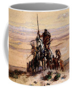 Russell Charles Marion Indians On Plains Coffee Mug