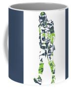 Russell Wilson Seattle Seahawks Pixel Art 11 Coffee Mug