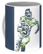 Russell Wilson Seattle Seahawks Pixel Art 12 Coffee Mug
