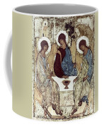 Russian Icons: The Trinity Coffee Mug