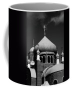 Russian Orthodox Church Bw Coffee Mug