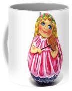 Russian Roly Poly Doll Music Doll Coffee Mug