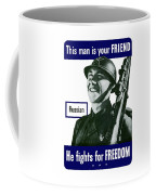 Russian - This Man Is Your Friend Coffee Mug