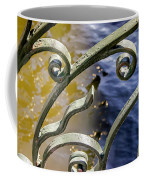 Russian Wrought Iron Coffee Mug by KG Thienemann