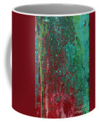 Rust Abstract Coffee Mug by Carol Groenen