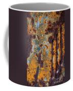 Rust Abstract Car Part Coffee Mug