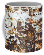 Rust And Torn Paper Posters Coffee Mug