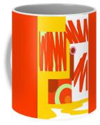 Rust Gold 3 Coffee Mug
