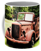 Rusted Mack Fire Engine Coffee Mug