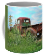 Rusted Not Retired Coffee Mug