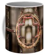 Rusted Prison Gate Coffee Mug