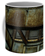 Rusted Steel Support Structure Coffee Mug