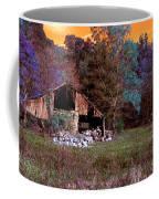 Rustic Barn In Disrepair False Color Infrared Coffee Mug