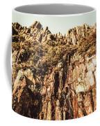 Rustic Cliff Spring Coffee Mug