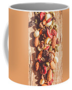 Rustic Dried Fruit And Nut Mix Coffee Mug