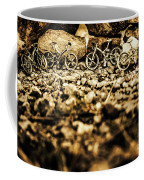 Rustic Mountain Bikes Coffee Mug