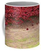 Rustic Poppy Garden Coffee Mug