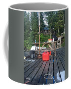 Rustic Summer Dock Coffee Mug