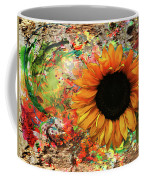 Rustic Sunroot Coffee Mug