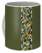 Rustic Wooden Abstract Tower Coffee Mug
