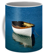 Rustic Wooden Row Boat. Coffee Mug