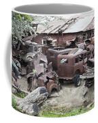 Rusting Antique Cars Coffee Mug