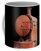 Rusty Abandoned Steam Locomotive Coffee Mug