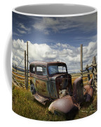 Rusty Auto Wreck Out West Coffee Mug