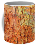 Rusty Bark Abstract Coffee Mug