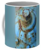 Rusty Blue Fire Hydrant Coffee Mug