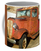 Rusty Chevrolet Pickup Truck 1934 Coffee Mug