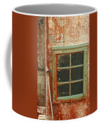 Rusty Lighthouse Window Coffee Mug