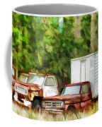 Rusty Old Abandoned Truck 1 Coffee Mug