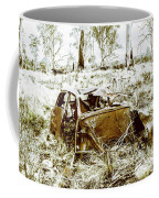 Rusty Old Holden Car Wreck  Coffee Mug