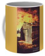 Rusty Outback Australia Shed Coffee Mug