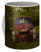 Rusty Red Chevy Coffee Mug