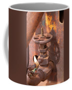 Rusty Sample Valve Coffee Mug