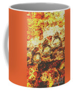 Rusty Shark Scene Coffee Mug