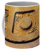 Rusty Texture Macro Coffee Mug