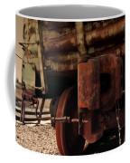 Rusty Train Back Coffee Mug