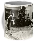 Ruth Roland Photographing A Doll 1925 Coffee Mug