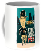 Ryne Sandberg Chicago Cubs Coffee Mug
